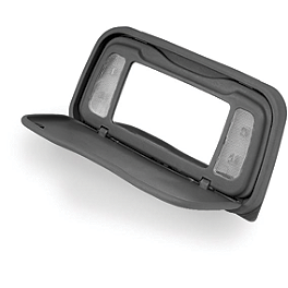 Show Chrome Lighted Vanity Mirror - 2002 Honda Gold Wing 1800 - GL1800 Show Chrome Contour CNC Billet Trunk Rack