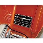 Show Chrome Lower Vents - Chrome - Cruiser Chrome Hardware and Accessories