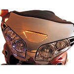 Show Chrome LED Windshield Garnish -  Cruiser Lights & Lighting