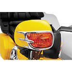 Show Chrome Mirror Back Accent Grilles - Show Chrome Cruiser Fairing Kits and Accessories