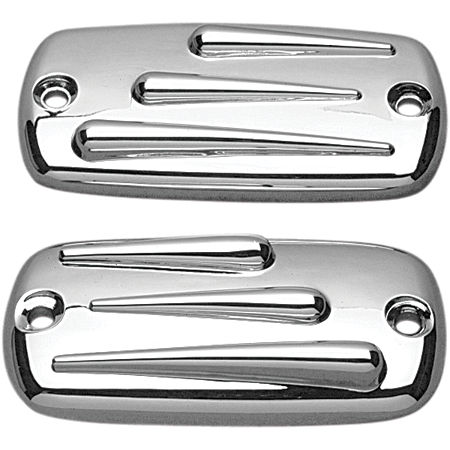 Show Chrome Raised Teardrop Master Cylinder Cover - Main