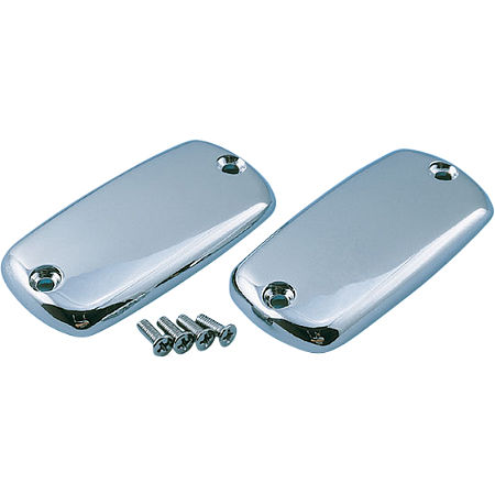 Show Chrome Single Master Cylinder Cover - Smooth - Main
