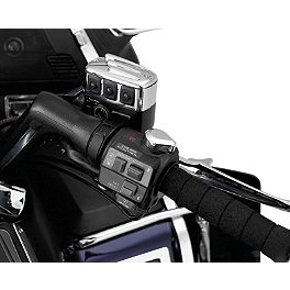 Show Chrome Master Cylinder Chrome Switch Assembly - Right - 1995 Honda Shadow VLX - VT600C Show Chrome Brake Side LED Switch Block - Black