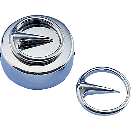 Show Chrome Contours Mini Accents - 2005 Honda VTX1800F2 Show Chrome Helmet Holder Pin - 10mm