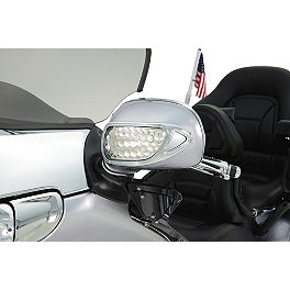Show Chrome Contours Mirror Accents - Show Chrome Mirror Back Accent Grilles