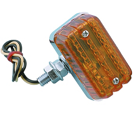 Show Chrome ABS Marker Light - 1997 Honda Shadow VLX - VT600C Show Chrome Slider Brake Pedal - Flame