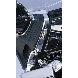 Show Chrome Mirror Mount Covers - 1995 Honda Gold Wing Aspencade 1500 - GL1500A Show Chrome Slider Brake Pedal - Flame
