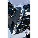 Show Chrome Mirror Mount Covers -  Cruiser Controls