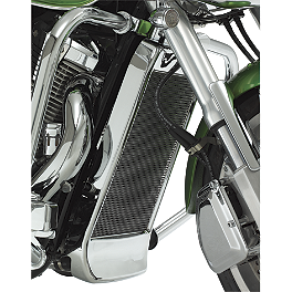 Show Chrome Mesh Radiator Grille - Chrome - 2007 Honda VTX1800N1 Show Chrome Vantage Rear Highway Boards