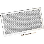 Show Chrome Mesh Radiator Grille - Chrome - Show Chrome Cruiser Parts
