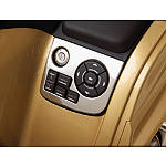 Show Chrome Navigation Control Panel Accent With Key Hole - Show Chrome Cruiser Dash and Gauges