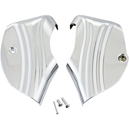 Show Chrome Neck Covers - Chrome - Show Chrome Side Covers - Chrome