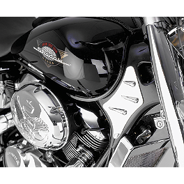 Show Chrome Neck Trim Accent - 2000 Honda Shadow ACE 750 - VT750C Show Chrome Helmet Holder Pin - 10mm