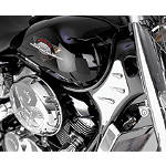 Show Chrome Neck Trim Accent - Cruiser Frame Covers