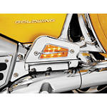 Show Chrome Passenger Floorboard Bottom Lights -