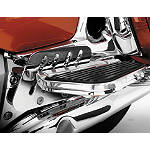 Show Chrome Passenger Floorboard Risers -  Cruiser Controls