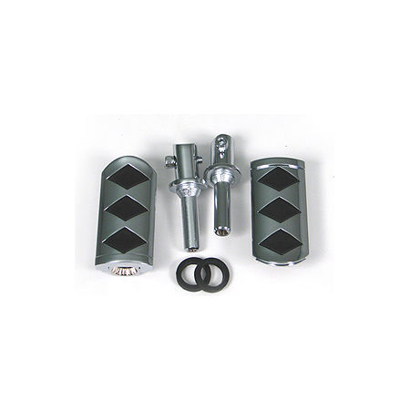Show Chrome Passenger Slider Peg System - Diamond - Main