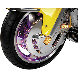 Show Chrome Lighted Front Rotor Covers - 2005 Honda Gold Wing 1800 ABS - GL1800A Show Chrome Heel-Toe Shifter