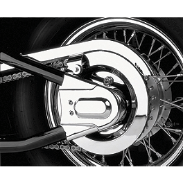 Show Chrome Rear Axle Cover - 2004 Honda Shadow VLX - VT600C Honda Genuine Accessories Chrome Air Cleaner Emblem