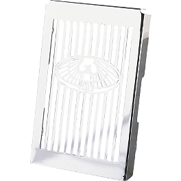 Show Chrome Eagle Radiator Grille - Hopnel Single Windshield Pouch