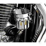 Show Chrome Rear Brake Reservoir Cover - Chrome - Show Chrome Cruiser Hand Controls