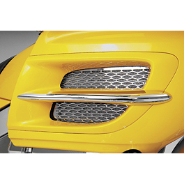 Show Chrome Radiator Grilles - Chrome - 2005 Honda Gold Wing 1800 - GL1800 Show Chrome Front Fairing Nose Trim