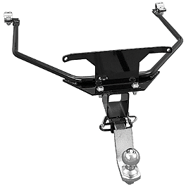Show Chrome Receiver Hitch Kit - Black - 1995 Honda Gold Wing Interstate 1500 - GL1500I Show Chrome Luggage Rack - Chrome