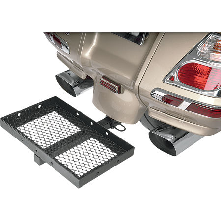 Show Chrome Receiver Hitch Rack - Main