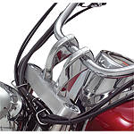 "Show Chrome 4"" Risers Without Bolts - Twisted -  Cruiser Controls"