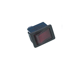 Show Chrome Rectangular Illuminated Rocker Switch - 2002 Honda VTX1800C Show Chrome Vantage Rear Highway Boards