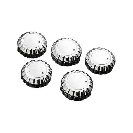 Show Chrome Replacement Radio Knobs - Chrome - Main