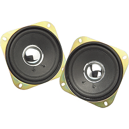 Show Chrome Rear Speakers - Show Chrome 4-1/2