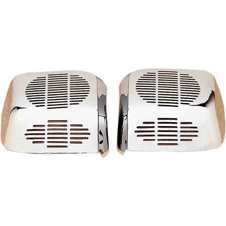 Show Chrome Rear Speaker Grilles - Main