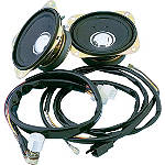 Show Chrome Rear Speaker Kit With Harness - Show Chrome Cruiser Riding Accessories