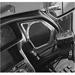 Show Chrome Speaker Accents - Front - Cruiser Fairing Kits and Accessories