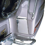 Show Chrome Saddlebag Kickplate Set -  Cruiser Saddle Bags