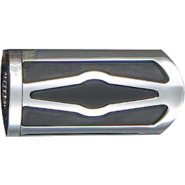 Show Chrome Slider Brake Pedal Cover - Celestar - 2003 Yamaha Road Star 1600 - XV1600A Show Chrome Helmet Holder Pin - 10mm