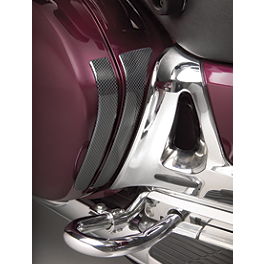 Show Chrome Saddlebag Scuff Pads - 2002 Honda Gold Wing 1800 - GL1800 Show Chrome Contour CNC Billet Trunk Rack