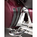 Show Chrome Saddlebag Scuff Pads -  Cruiser Saddle Bags