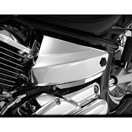 Show Chrome Side Covers - Chrome - 2000 Yamaha Road Star 1600 Midnight - XV1600AS Show Chrome Helmet Holder Pin - 10mm