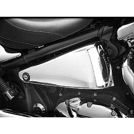 Show Chrome Side Covers - Chrome - 1997 Kawasaki Vulcan 1500 - VN1500A Show Chrome Helmet Holder Pin - 10mm
