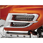 Show Chrome Side Fairing Accent Grille - Chrome - Show Chrome Cruiser Fairing Kits and Accessories