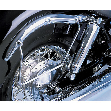 Show Chrome Shock Bolt Covers - Main