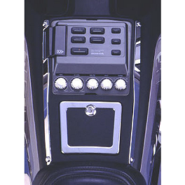 Show Chrome Radio Side Accents - 1992 Honda Gold Wing Interstate 1500 - GL1500I Show Chrome Grommet Set