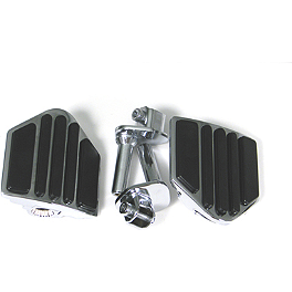 Show Chrome Rail Slider System - Mini Board - 2007 Honda VTX1800F2 Show Chrome Vantage Rear Highway Boards