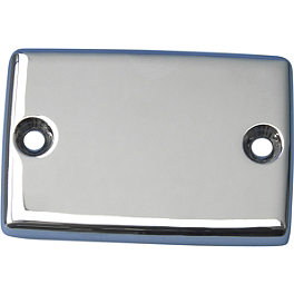 Show Chrome Single Master Cylinder Cover - Show Chrome Single Master Cylinder Cover - Smooth