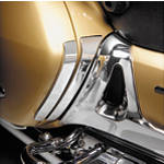 Show Chrome Scuff Plates - Chrome - Cruiser Frame Covers