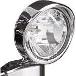 "Show Chrome 3-1/2"" Halogen Spot Light - Show Chrome Cruiser Lighting"