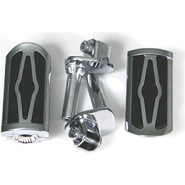 Show Chrome Front Slider Peg System - Celestar - Kuryakyn 2-Piece Fork Mount For Lights - 39mm