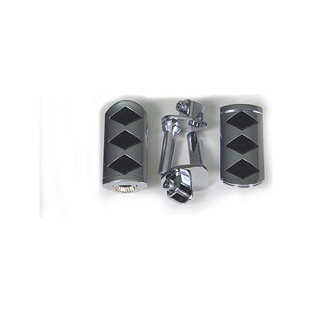 Show Chrome Front Slider Peg System - Diamond - Main